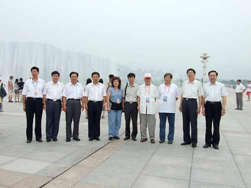 全国台联2007年台胞青年夏令营到山东师大长清校区